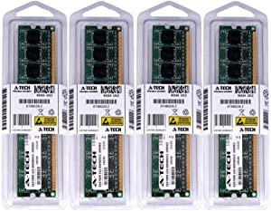 32GB KIT (4 x 8GB) for HP Compaq Elite 8200 Convertible Minitower Microtower Small Form Factor. DIMM DDR3 Non-ECC PC3-10600 1333MHz RAM Memory. Genuine A-Tech Brand.