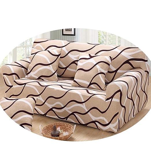 Funda de sofá elástica para sillones o sofás, Color Beige ...
