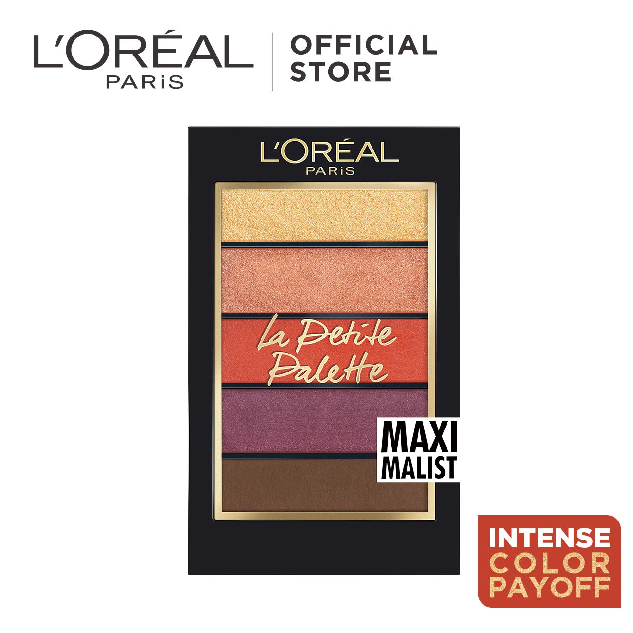 L'oreal Paris La Petite Eyeshadow Palette, Maximalist, Best Affordable Eyeshadow Palettes