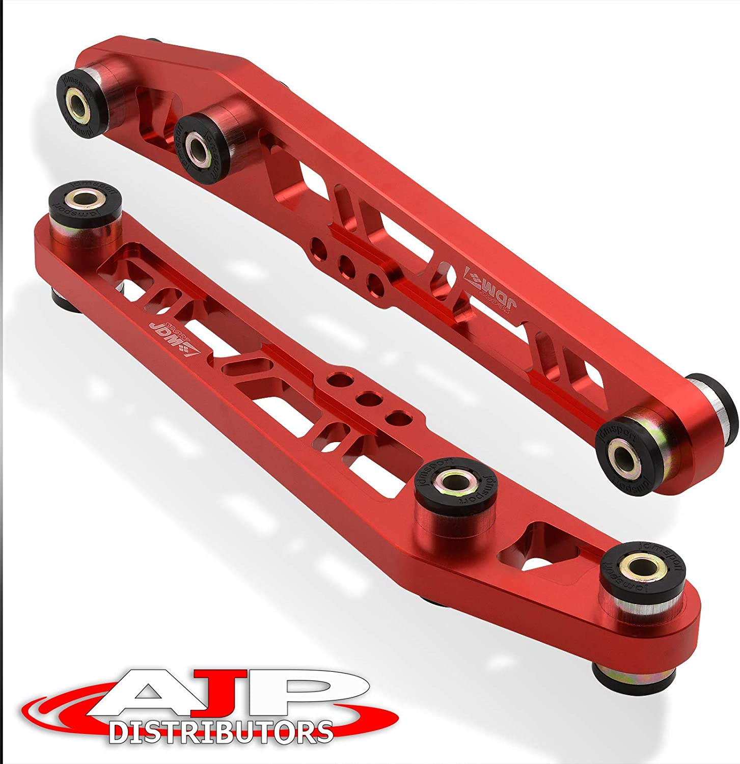 RED LOWER CONTROL ARM SUSPENSION REAR CAMBER KIT CIVIC 1988-1995 INTEGRA 90-01