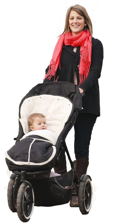 Wallaboo Manta arrullo de invierno para beb/é Maclaren universal Maxi Cosi es ideal para cochecitos de beb/é Bugaboo 100 x 48 cm,, Muy Pr/áctica y ultra Suave Chicco BabyBj/örn Resistente al Viento y al Agua de 6 a 36 meses