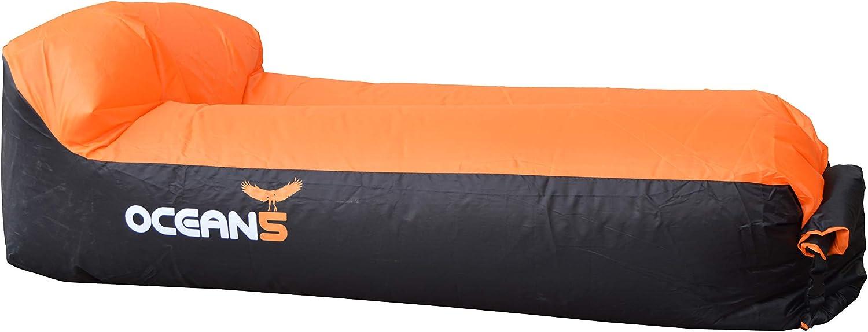 Ocean 5 Air Lounger, sofá Hinchable Impermeable, Aire sofá con ...