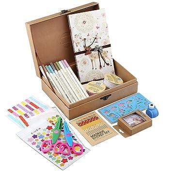 Amazon Gotideal Diy Scrapbook Album Craft Paper Wedding And