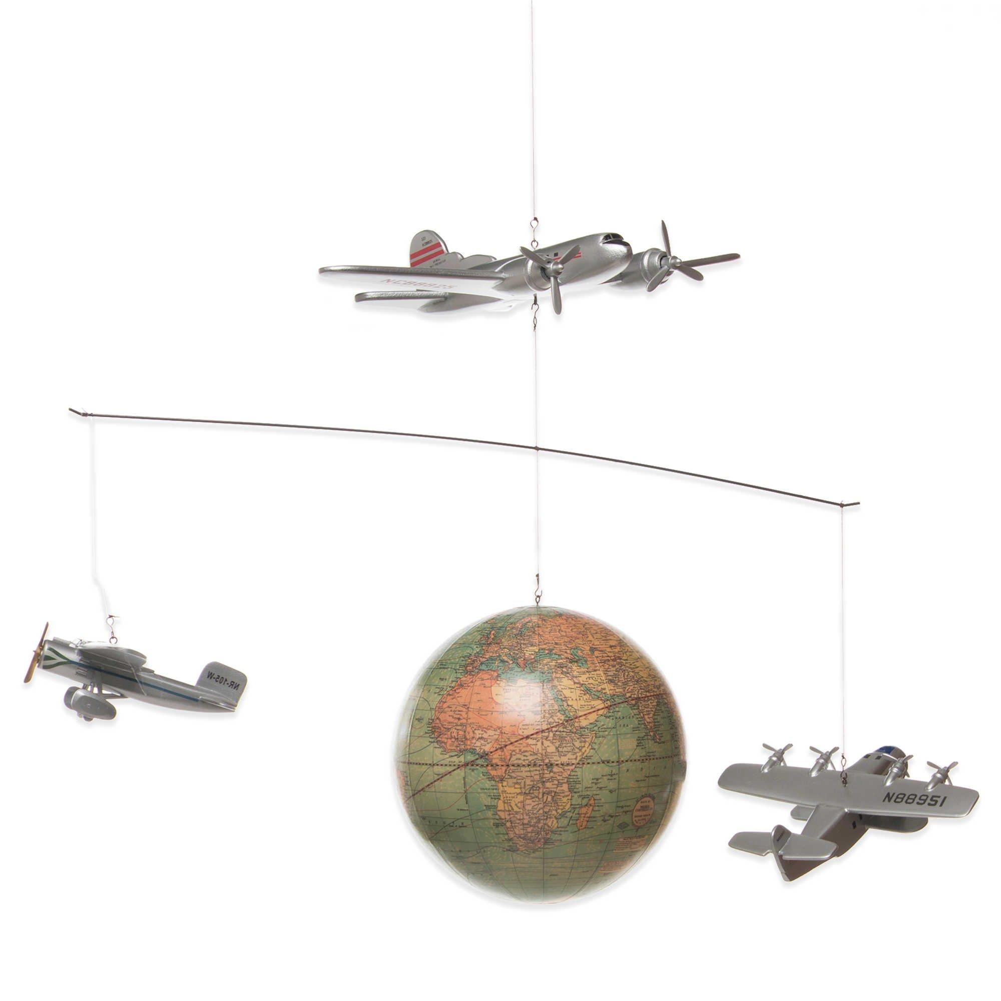 Glenna Jean Fly-By Globe Mobile by Glenna Jean