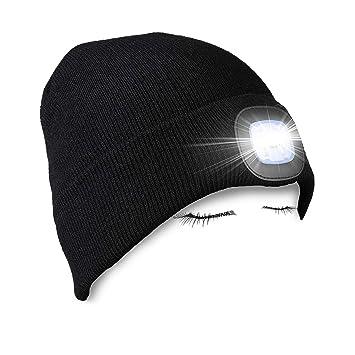 58986318b91 LED Knitted Beanie Hat