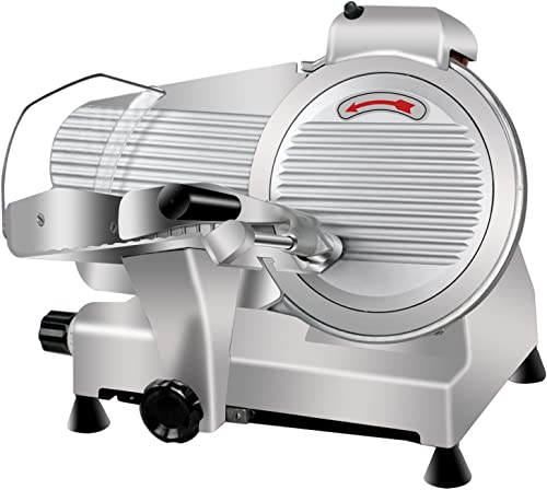 Super-Deal-Commercial-Stainless-Steel-Semi-Auto-Meat-Slicer