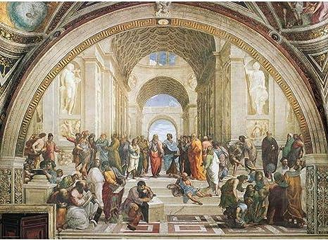 Eurographics 6000 – 4141 – Rafael: La Escuela De Atenas – Puzzle 1000 Piezas: Amazon.es: Hogar
