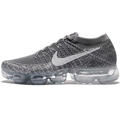 best website 4c373 8e0b4 Nike Women's Air Vapormax Flyknit Running Shoe Dark Grey/Black-Wolf  Grey-Pure Platinum 7.0
