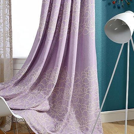 Light Purple Curtains Living Room Drapes