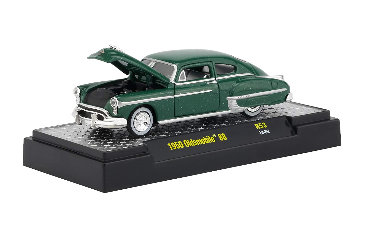 Auto Thentics 6 Piece Set Release 53 in Display Cases 1//64 Diecast Model Cars by M2 Machines 32500-53