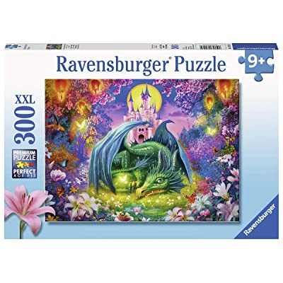 "Ravensburger 13258 Forest Dragon, 300 Piece Puzzle for Kids, Every Piece is Unique, Pieces Fit Together Perfectly, Multicolor, 19.5"" x 14.25"": Toys & Games"