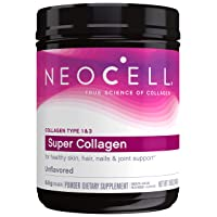 NeoCell Super Collagen Powder, 19oz, Non-GMO, Grass Fed, Paleo Friendly, Gluten...