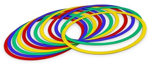 2 opinioni per 12 cerchi colorati per fitness ed esercizi di coordinazione- 45 cm