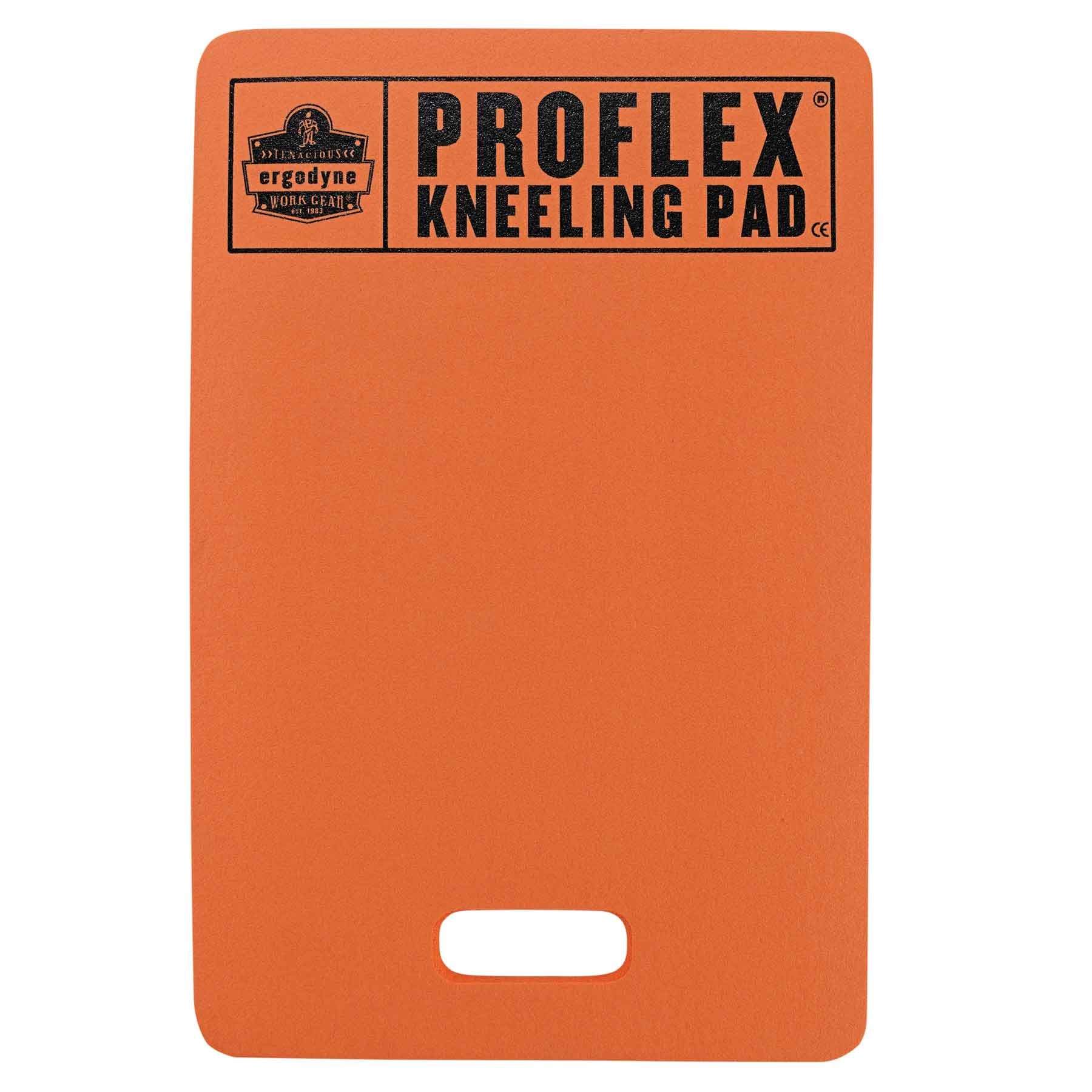 Ergodyne ProFlex 380 Multi-Functional Foam Kneeling Pad, Cushions and Protects for Static Kneeling, Orange, 14'' x 21'' x 1 by Ergodyne
