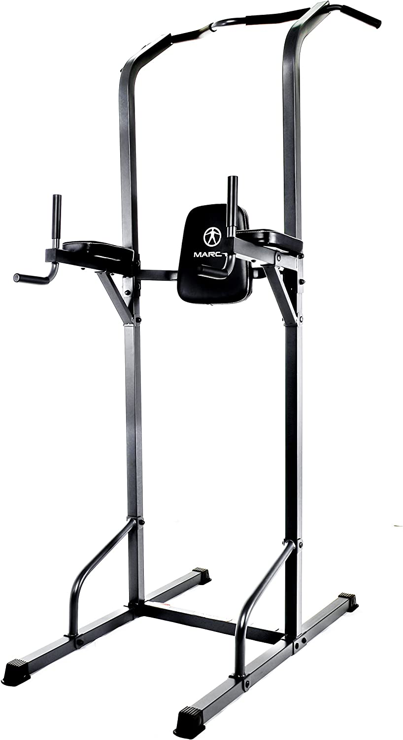 Marcy Power Tower Multi-Grip Pull Up /& Dip Station VKR Home Gym TC-3515