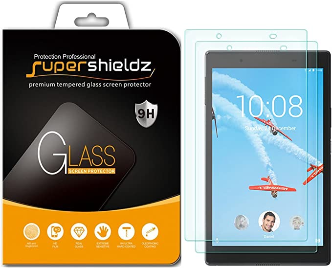 8 inch Supershieldz Tempered Glass Screen Protector for Lenovo Tab 4 8