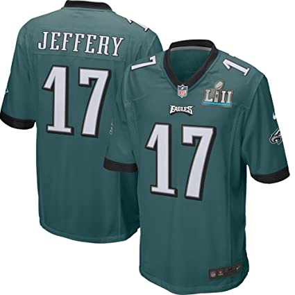 Youth Nike Philadelphia Eagles #11 Carson Wentz Black 2018 Super Bowl LII Game Jersey
