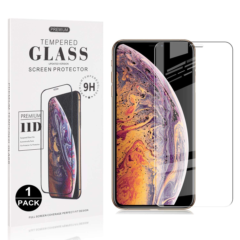 Easy Installation Anti Fingerprint 2 Pack Bear Village iPhone Xs ...