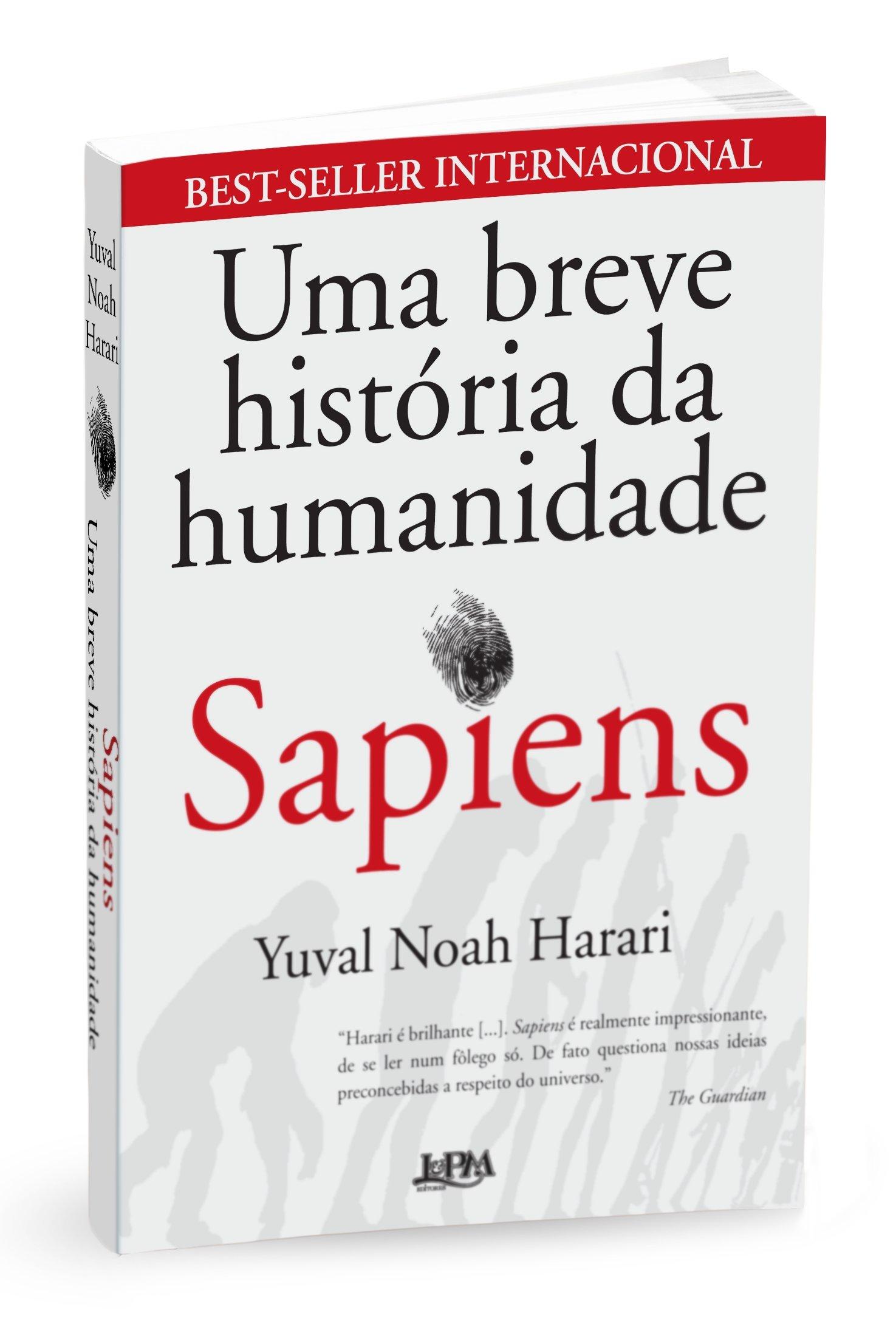 Resultado de imagem para Sapiens: Uma breve História da humanidade - Yuval Noah Harari
