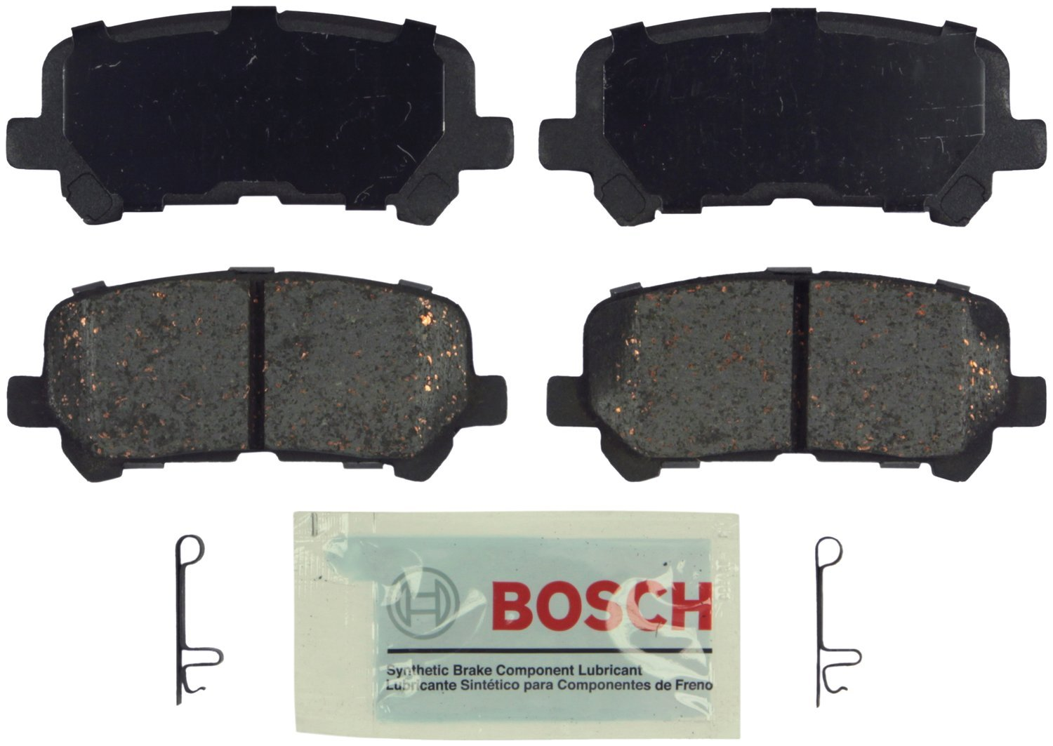 Bosch BE1281 Blue Disc Brake Pad Set by Bosch