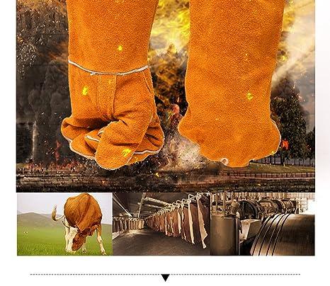 JIAYOU Industria De La Maquinaria Soldador Guantes/Soldadura Protección del Trabajo Soldadura Resistente A La
