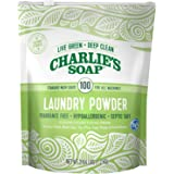 Charlie's Soap – Fragrance Free Powdered Laundry Detergent – 100 Loads (2.64 lbs, 1 Pack)