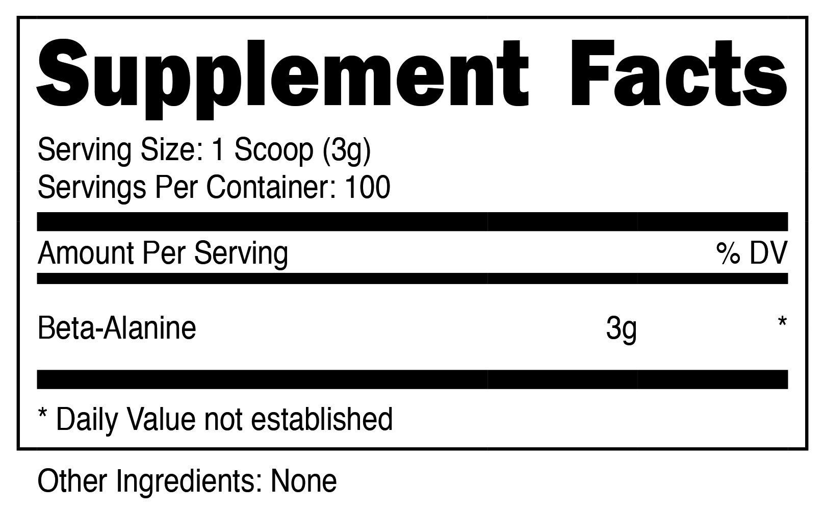 Nutricost Beta Alanine Powder 300 Grams - 3 Grams Per Serving by Nutricost (Image #2)