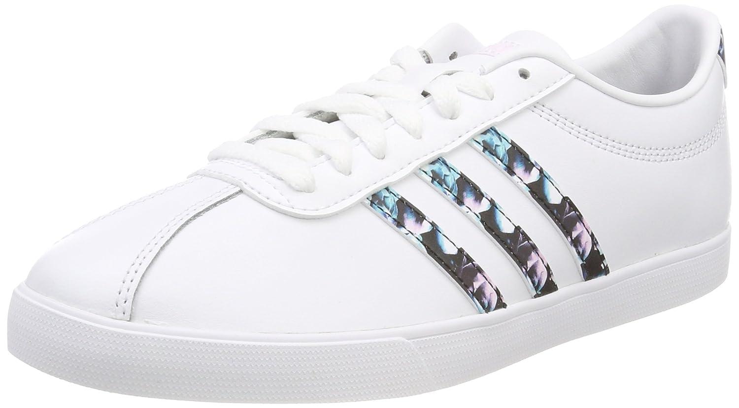 Adidas Courtset, Zapatillas para Mujer 39 1/3 EU|Blanco (Ftwbla/Ftwbla/Ftwbla 000)