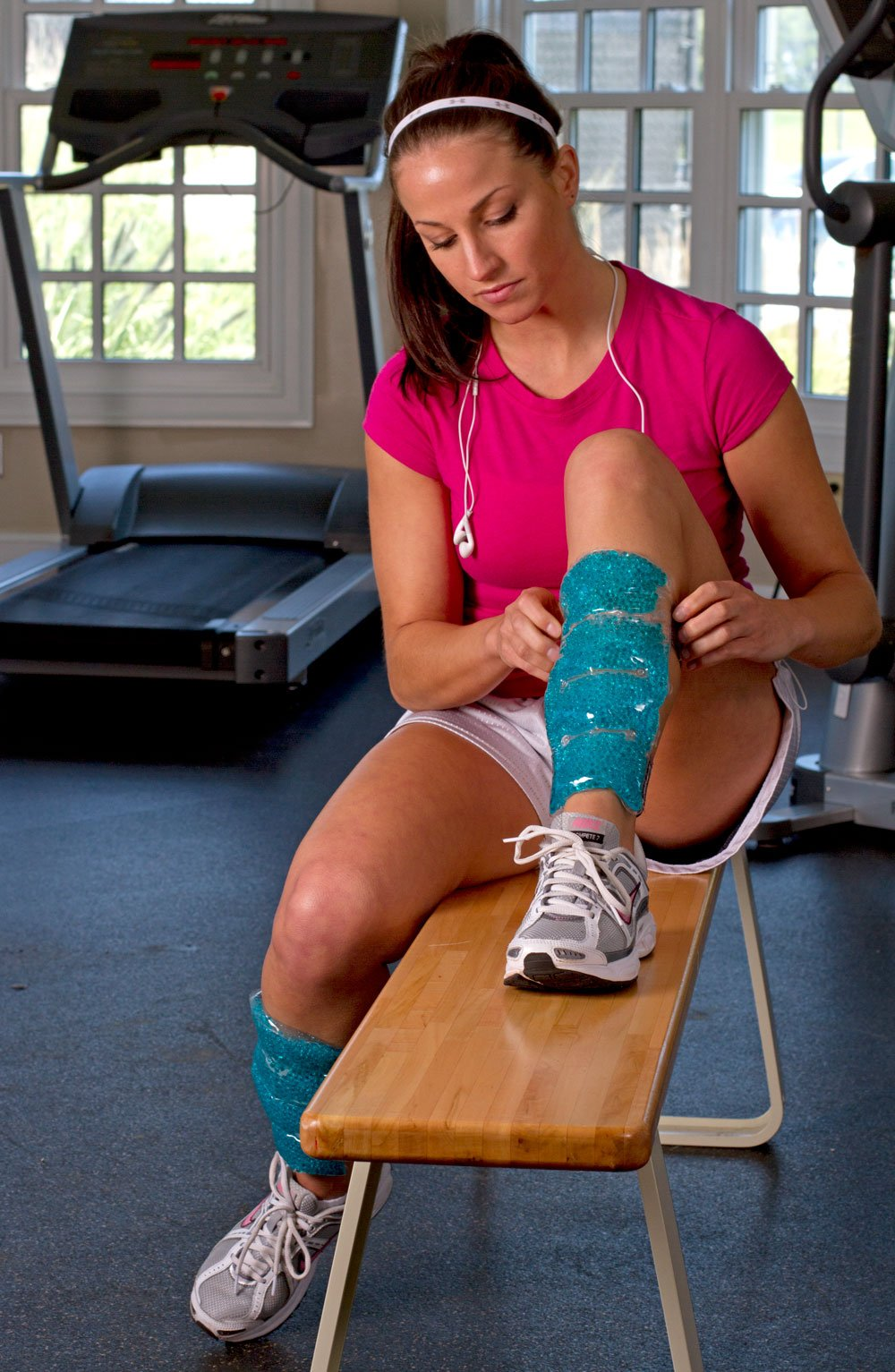 TheraPearl Shin Wraps Reusable Hot Cold Therapy, Two Pack, (Pack of 24) by THERA°PEARL (Image #3)