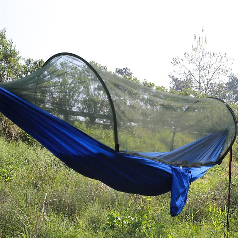 Camping Outdoor Hammock Mosquito Net Tent Military Sleeping Swing Hanging Bed pg