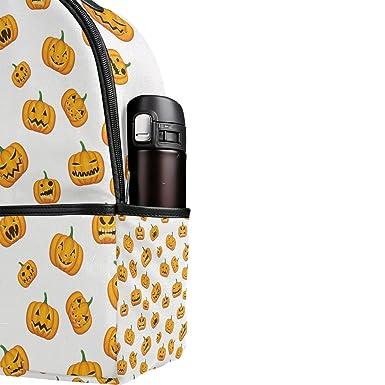 JSTEL Halloween Pumpkin Emoji School Backpack 4th 5th 6th Grade for Boys  Teen Girls Kids  Amazon.co.uk  Clothing 047786aad86ee