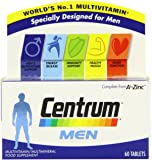 Centrum Multivitamins for Men - Pack of 60