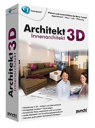 Innenarchitektur Programm Kostenlos 3d architekt 3d innenarchitekt amazon de software