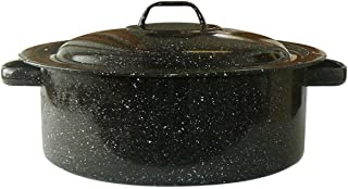 product image for Granite Ware Covered Casserole, 3-Quart, Black