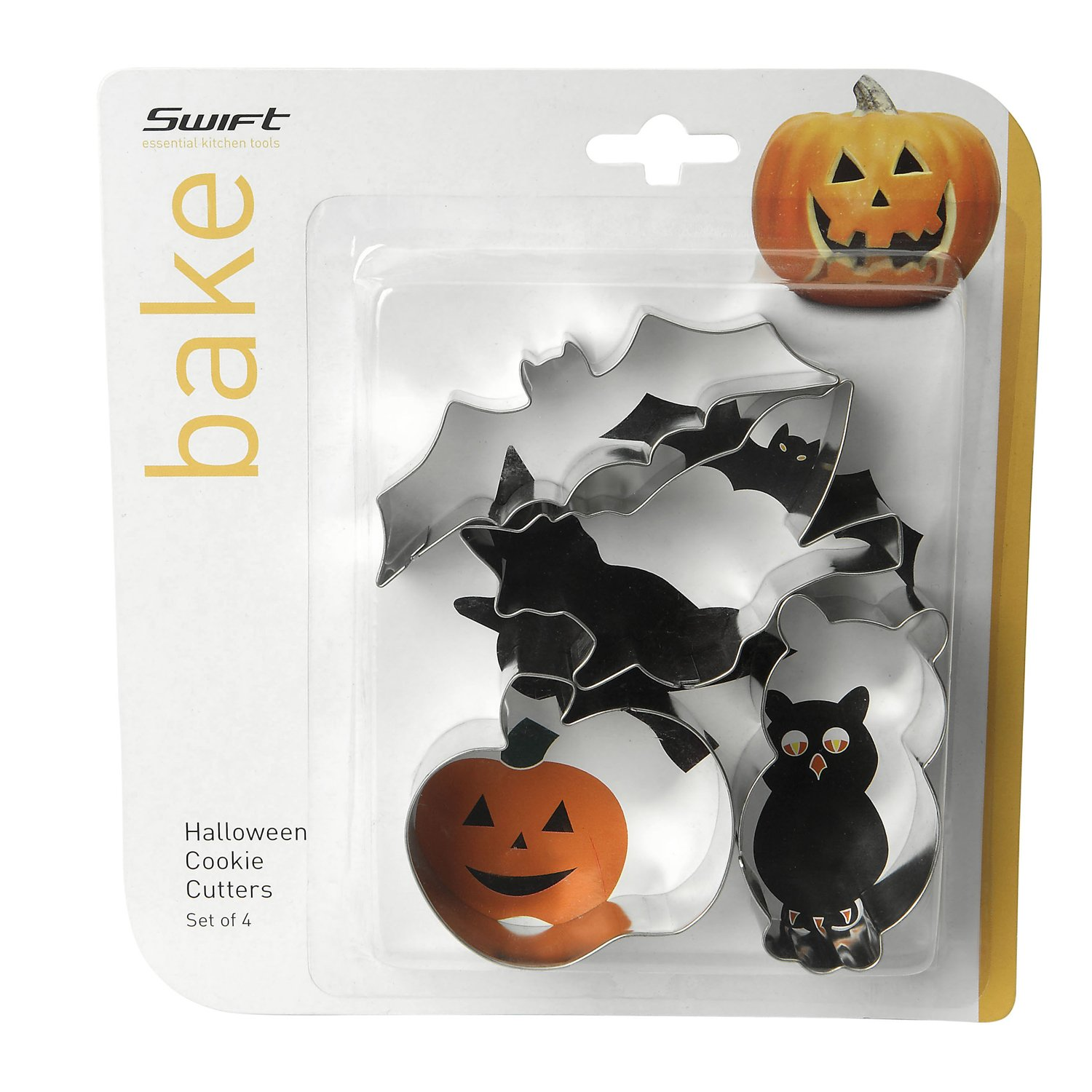 swift 4 Piece Halloween Cookie Cutters Faringdon Collection 17848896