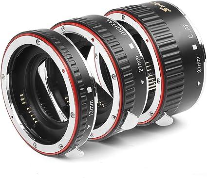 Dorr 13//21//31mm Extension Tubes Set for AF Canon