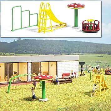 Busch 1163 - Juegos de Jardin - Escala 1/87 - H0 - Accesorios para dioramas y Modelos de plástico - modelismo ferroviario: Amazon.es: Juguetes y juegos