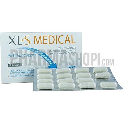 XL-S MEDICAL Reductor del Apetito 60 cápsulas