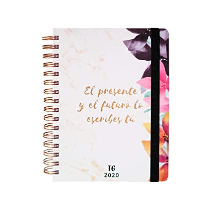 Edición Especial Tamara Gorro - Takenote Agenda 2020 - Encuadernación Wire-o - Semana Vista - Tamaño 16,5x21,5