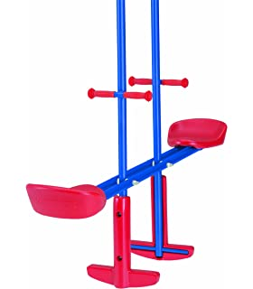 Kettler Home Playground Equipment: Metal Seesaw Glider Swing Set, Youth  Ages 3 To 8