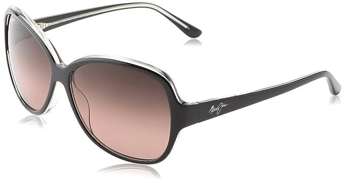 0e0c08d419e8 Maui Jim Sunglasses - Maile / Frame: Black with Crystal Lens: Maui Rose