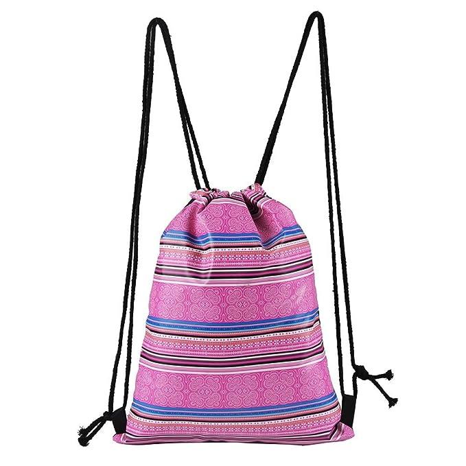 Amazon.com: Fashion Outdoor Sports Casual Satchel Rucksack Bundle Pocket Drawstring Bag Lightweight Backpack for Women Men Hot Sale Clearance: Arts, ...