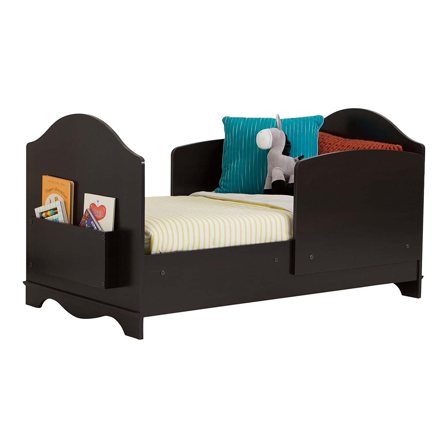South Shore Savannah Toddler Bed, Espresso 3519170