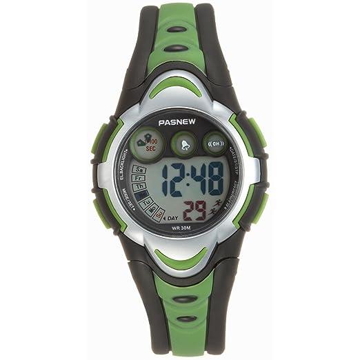 amazon com pasnew led waterproof sports digital watch for children rh amazon com Gap Sport Watch Gap Men's Watch