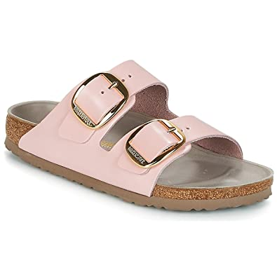 BIRKENSTOCK Arizona Big Buckle PantolettenClogs Damen Rose