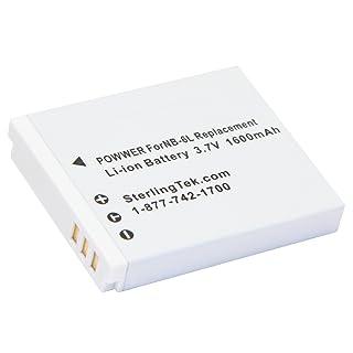 STK Canon NB-6L NB-6LH Battery 1600mAh for Powershot SX710 HS ,SX520 HS ,SX530 HS ,SX510 HS ,S120 ,SX700 HS ,SX610 HS ,SX600 HS, D30, and S95 Cameras