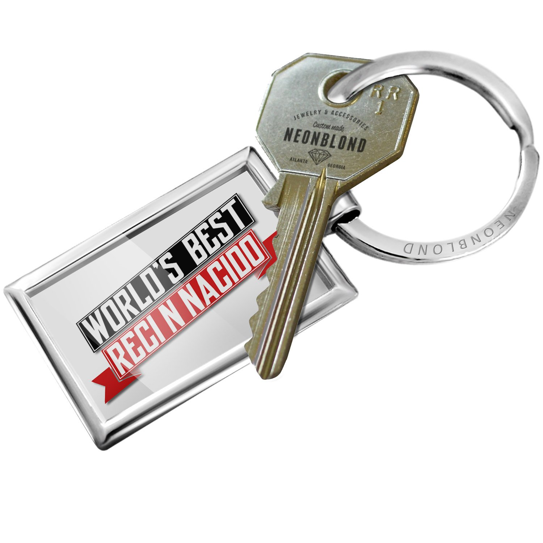 Amazon.com: NEONBLOND Keychain Worlds Best Recién Nacido: Automotive