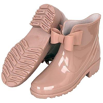 Women's Wellington Boots Waterproof Rubber Rain Boots Outdoor Anti-Slip Work Garden Shoes | Rain Footwear