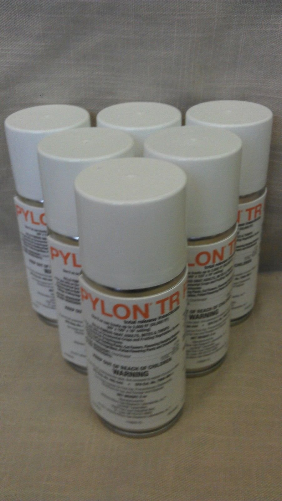 6- 2oz. Cans of Pylon Total Release Miticide/new From Basf/excellent for Mites