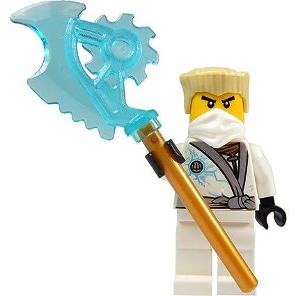 Amazon.com: LEGO Ninjago: Minifigur Zane - Rebooted (weisser ...